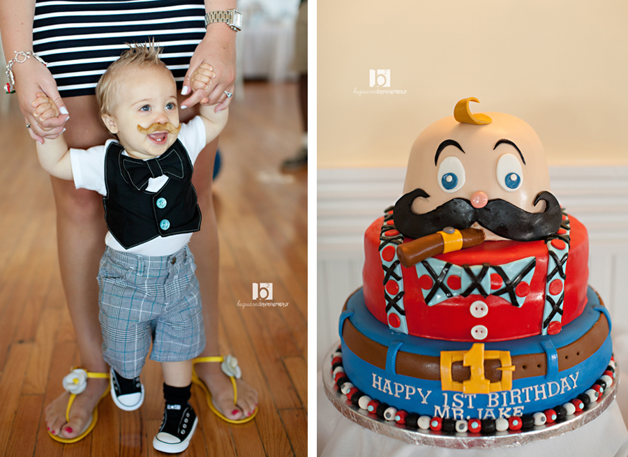 Jakes Little Man Mustache Bash Aka 1st Birthday Bsquared